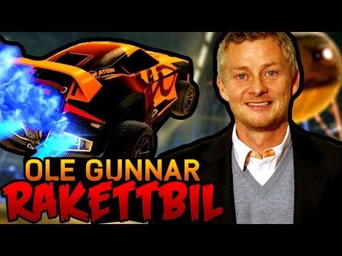 OLE GUNNAR SOLSKJÆR SOM RAKETTBIL!! (Rocket League)