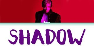 Taemin 태민 Shadow Color Coded Han Rom Eng