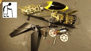 Let's disassemble that cheap RC helicopter