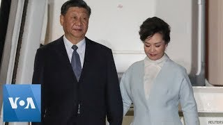 China's President Xi Arrives in Greece