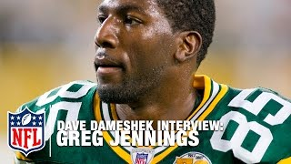Who's the Greatest Packers QB? Greg Jennings' relationship with Favre & Rodgers | NFL