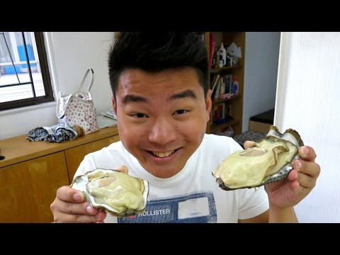 GIANT OYSTERS! (VLOG #118)
