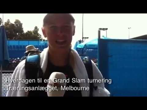 Caroline Wozniacki interview, Australian Open 2013