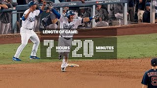 The Longest World Series Game Ever (Dodgers-Red Sox Game 3) | Epic Extras