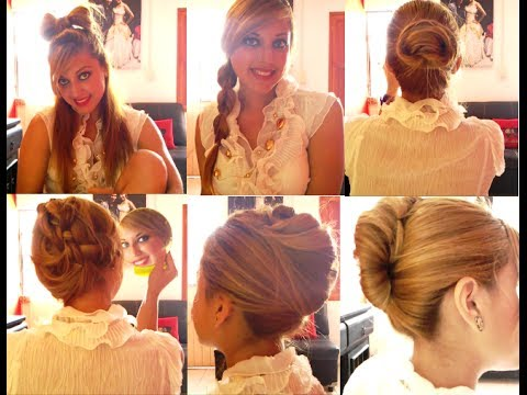 Peinados para fiesta, fáciles, elegantes y lindos - Jossie