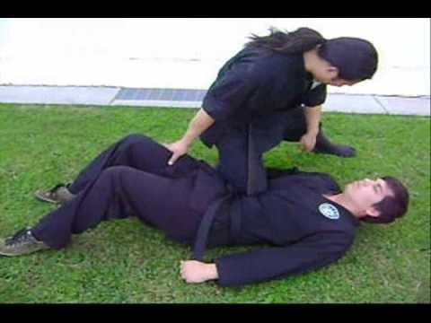 Nintai Jujutsu (knee on belly submission) Image 1