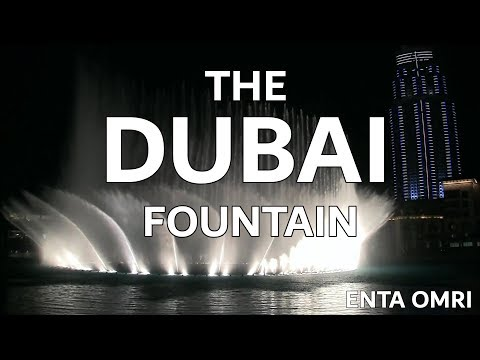 The Dubai Fountain: Enta Omri - Shot edited With 5 Hd Cameras - 5 Of 9 (high Quality!) video