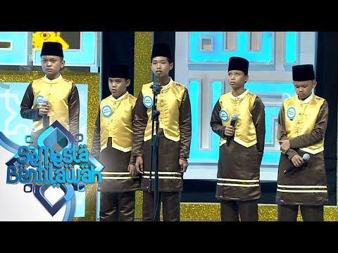 Merinding! Penampilan An Nawawiyah Qs An-Naas1 sd 6 - Semesta Bertilawah Episode 2