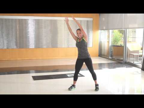 Herbalife Montreal Canada Ind. Member C. Arthur-Quick Workout by Samantha Clayton