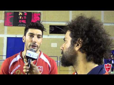Antonio Anselmo, MVP di AssoRetiPMI Volley Jòya - Caseificio di Nucci Agnone 3-0