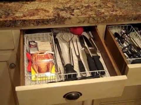 Kitchen drawer organization: On a budget!