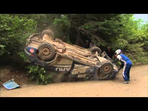 Patrick Richard/Alan Ockwell Crash at Baie Des Chaleurs 2010