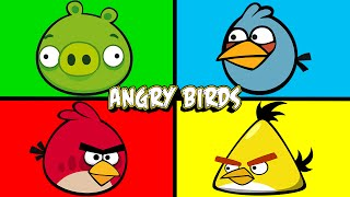Angry Birds | Learning Colors Surprise Eggs | #AngryBirds | JUNIORS TOONS