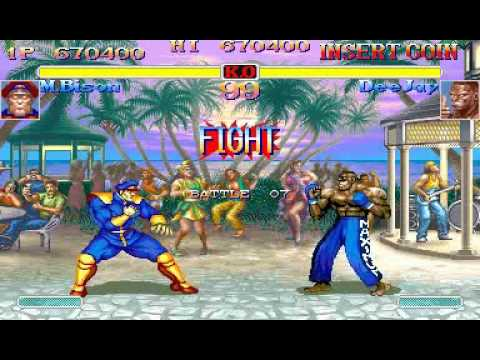 Hyper Street Fighter 2- M. Bison TAS 2