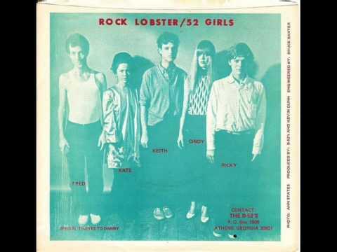 The B-52's Rock Lobster / 52 Girls - Original 1978 DB-52 Single