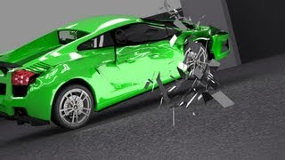 Blender Car Crash II