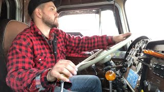 Twin Stick Shifting Peterbilt 359 8v92 Detroit Spicer 6x4