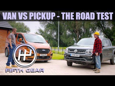 Van VS Pickup - The Road Test   Fifth Gear