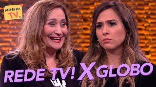 Rede TV! vs. Rede Globo: Sônia Abrão e Tatá DETONAM emissoras | Lady Night | Humor Multishow