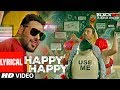Happy Happy Lyrical Video | Blackmail | Irrfan Khan | Badshah | Aastha Gill