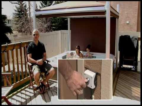 Automated Hot Tub Spa Gazebo Cover The Covana