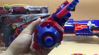 Súng xốp cơ giá rẻ người nhện - Súng đồ chơi - VIVISHOP