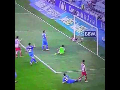 Gol y lesion de Diego Costa