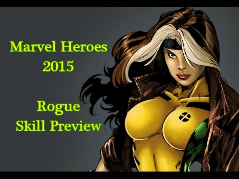 Marvel Heroes: Rogue Skill Preview!