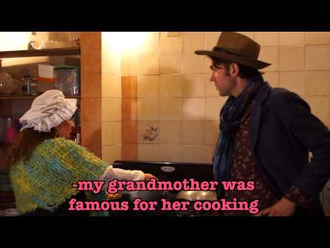 Grandma Ana Maria Teaches Erik A Savory Chicken Dish In Her 300 Year Old Theatre