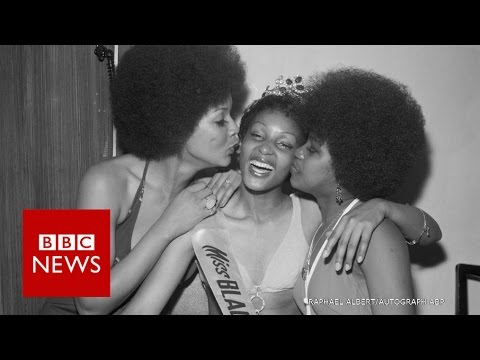 """Black beauty pageants of the 60s - """"a political statement"""" - BBC News"""