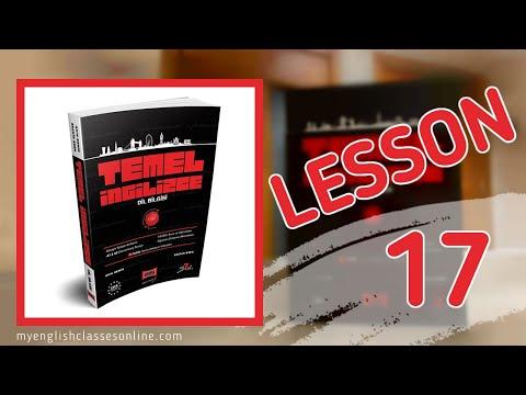 Lesson 17: Present Continuous Tense