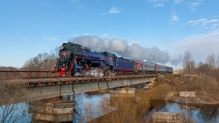 [RZD] LV-0522 steam locomotive, Batetskaya - Lubolyady strech
