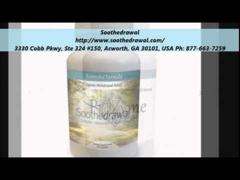 Soothedrawal Natural Remedies for Opiate Withdrawals