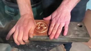 Tutorial Tuesday- Chasing and Repousse series #14: Flattening, cutting, and filing