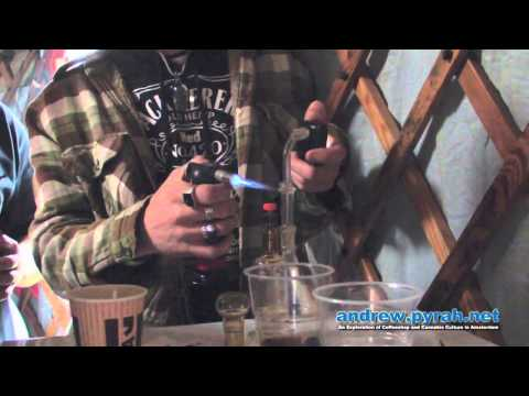 Dab Session with Cannabis Cure UK at Cannabis Liberation Day Amsterdam 2013