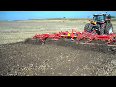 Sunflower Model 6630 Vertical Tillage Tool with rolling baskets.