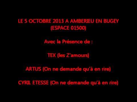 solidarire n° 2 (5/10/2013) à Ambérieu avec Tex, Artus, Cyril Etesse, Steeve Estatof.