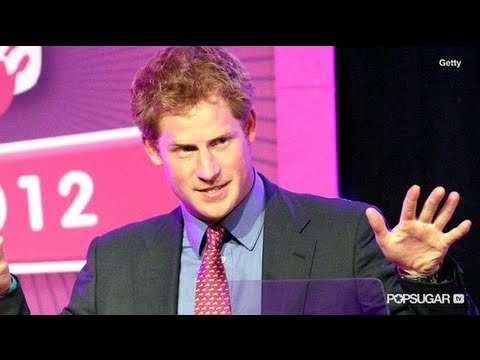 Prince Harry Jokes About Nude Photo Scandal