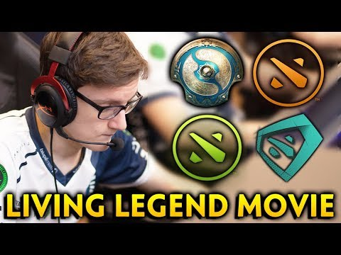 Miracle LIVING LEGEND the Movie — first to win 3 MAJORS + TI