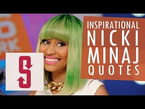 Inspirational Nicki Minaj Quotes