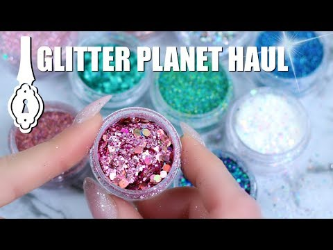 NAIL GLITTER HAUL | GLITTER PLANET UK