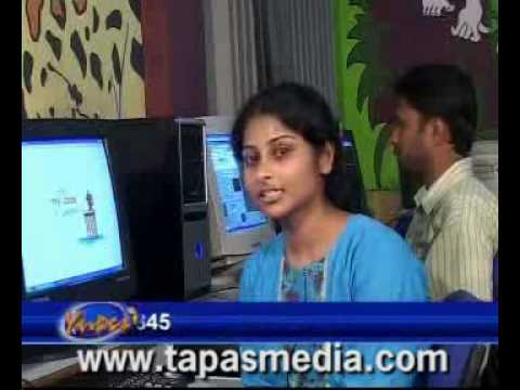 TAPAS hyderabad on MAA tv IT show - multimedia 3d animation 3d architecture - training institute