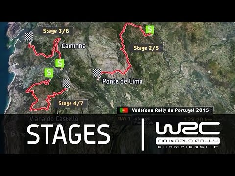 WRC - Vodafone Rally de Portugal 2015: The Stages