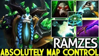Ramzes [Nature's Prophet] 100% Map Control Nowhere is Safe 7.21 Dota 2