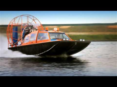 аэроглиссер лодки видео