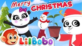 Jingle Bells - Christmas Songs for Children | Little BoBo Nursery Rhymes | FlickBox Kids