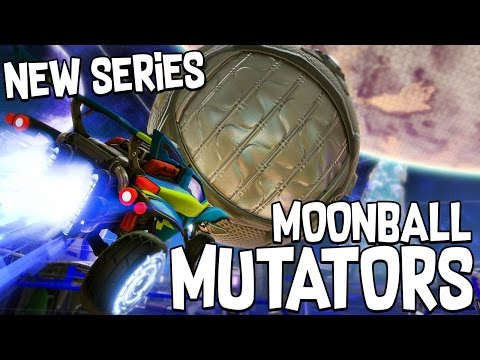 WHO'S THE BETTER PLAYER?! #1 - ROCKET LEAGUE!! - MOONBALL MUTATOR!!
