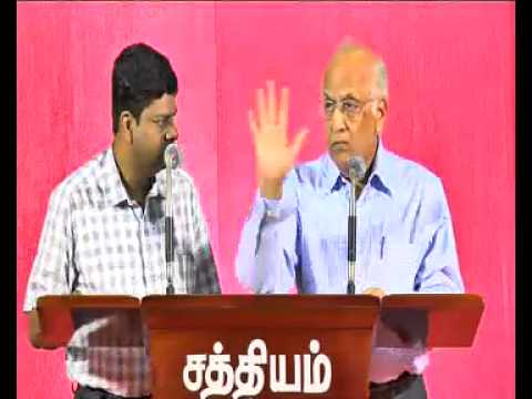 Peace in Our Hearts And To All Men [Tuticorin Conference -  Session - 9/11]