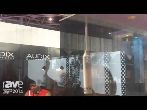 ISE 2014: Audix Microphones Presents Its M55, M70 and M40 Ceiling Microphones for Videoconferencing