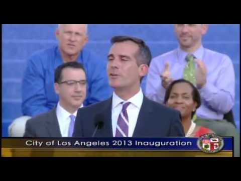 Los Angeles Mayor Eric Garcetti's Inaugural Speech